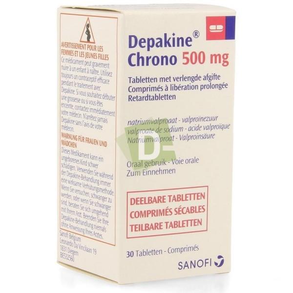 Depakine Chrono 500 mg x 50 Prolonged Release Tablets