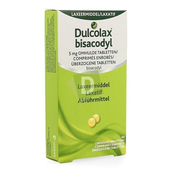 Dulcolax 5 mg x 40 Comprimés enrobés