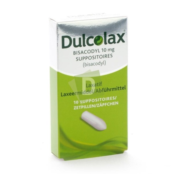 Dulcolax 10 mg x 10 Suppositoires