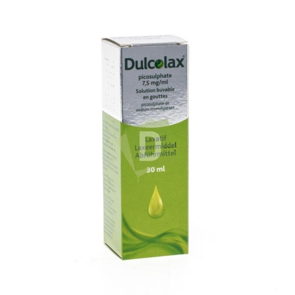 Dulcolax 7,5 mg Solution Buvable en gouttes 30 ml