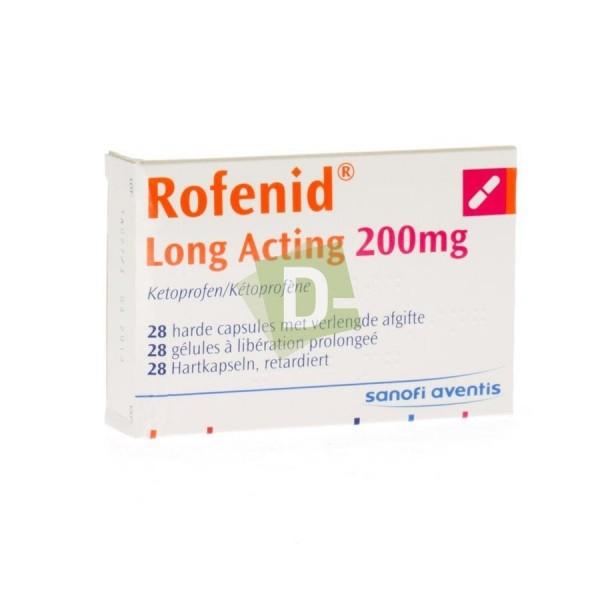 Rofenid Long Acting 200 mg x 28 Gélules