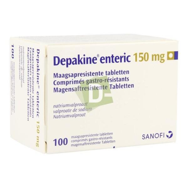 Depakine Enteric 150 mg x 100 Gastro-resistant tablets