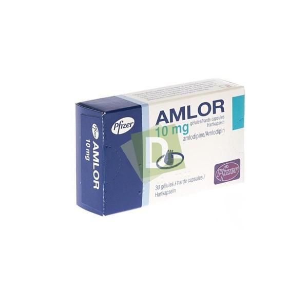 Amlor 10 mg x 30 Gélules : Traitement contre l'hypertension