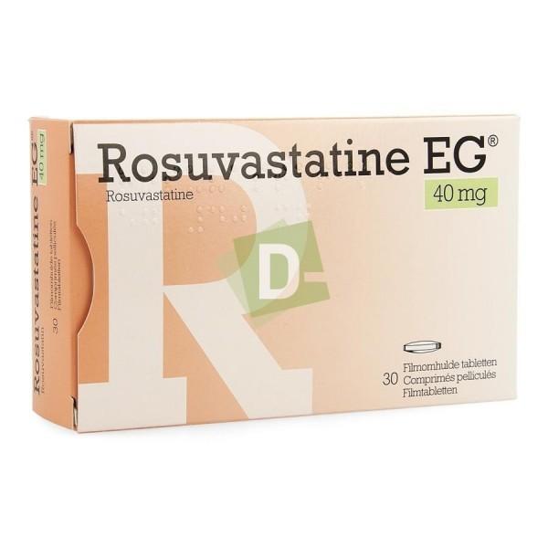 Rosuvastatine EG 40 mg x 30 Comprimés pelliculés