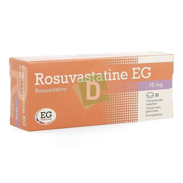Rosuvastatine EG 10 mg x 30 Comprimés pelliculés
