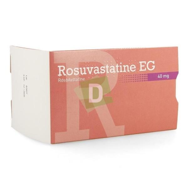 Rosuvastatine EG 40 mg x 100 Comprimés pelliculés
