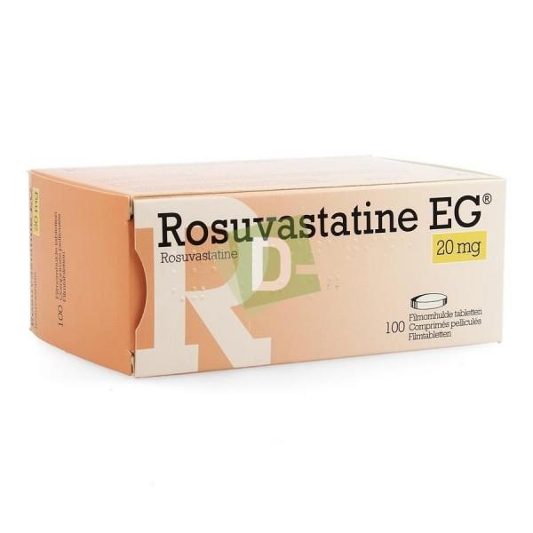 copy of Rosuvastatine EG 40 mg x 30 Comprimés pelliculés