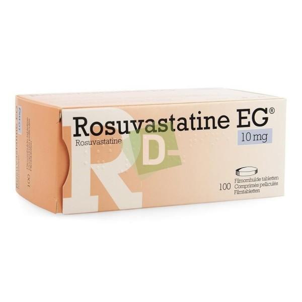 Rosuvastatine EG 10 mg x 100 Comprimés pelliculés
