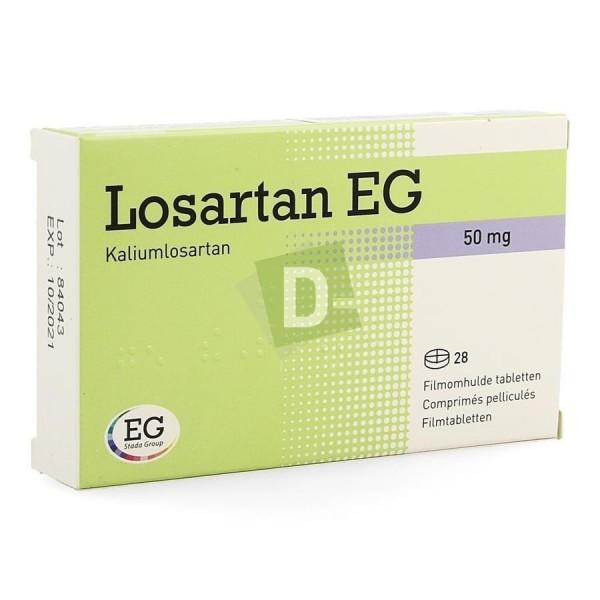 Losartan EG 50 mg x 28 Comprimés