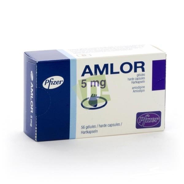 Amlor 5 mg x 56 Capsules