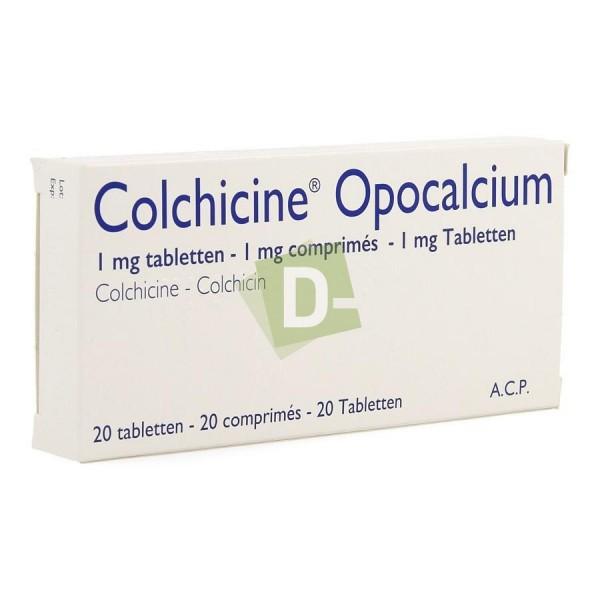 Colchicine Opocalcium 1 mg x 20 Tablets