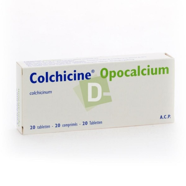 Colchicine Opocalcium 1 mg x 20 Comprimés
