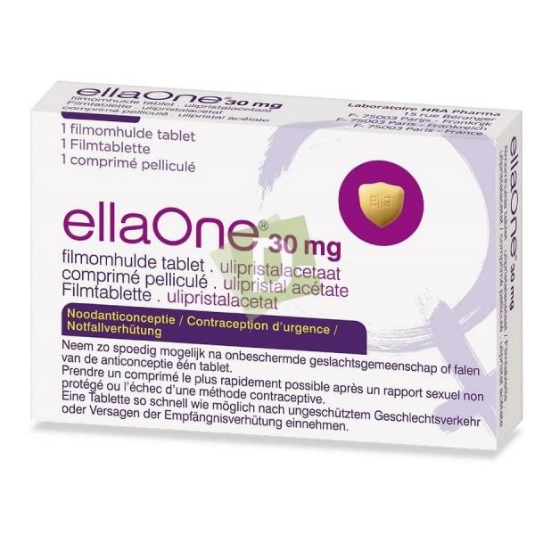 EllaOne 30 mg x 1 Comprimé pelliculé