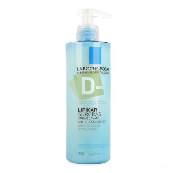 LRP Lipikar Surgras Crème Lavante Anti Dessèchement 400 ml