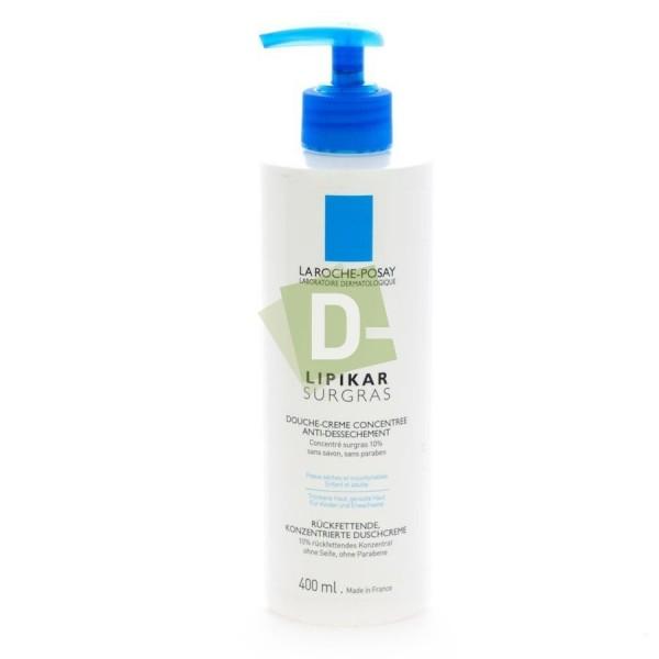 LRP Lipikar Surgras Cream Lavante Anti Dessèchement 400 ml