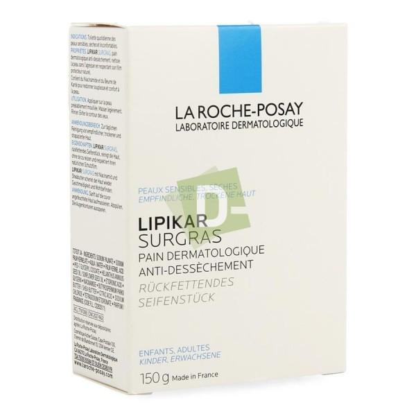 LRP Lipikar Surgras Pain Dermatologique Anti Dessèchement 150 gr