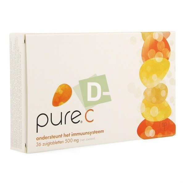 Pure C 36 Tablets to suck