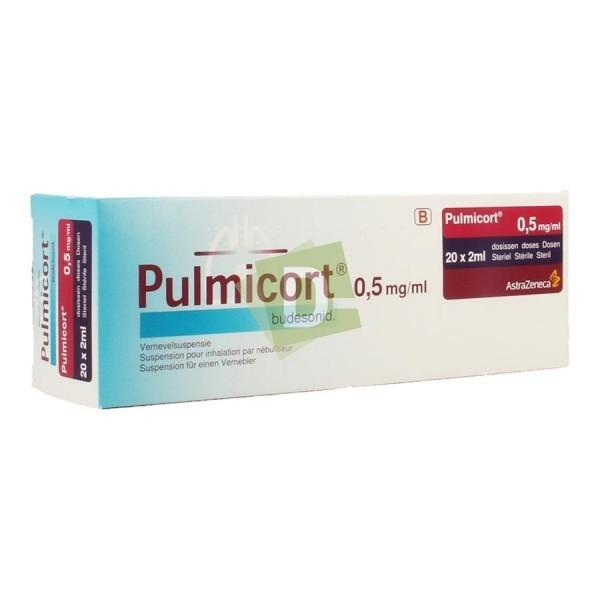 Pulmicort Suspension pour nébulisateur 0.50 mg/ml 20 x 2 ml
