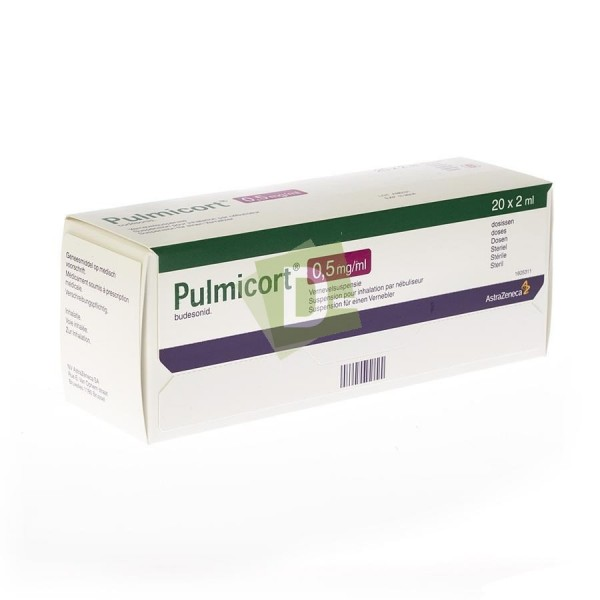 copy of Pulmicort Suspension pour nébulisateur 0.25 mg/ml 20 x 2 ml