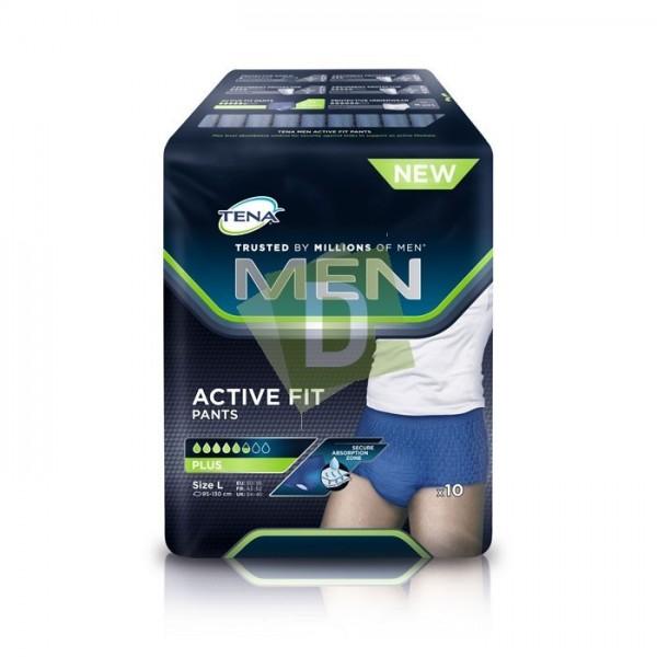 Tena Men Active Fit Pants Plus Large x 10