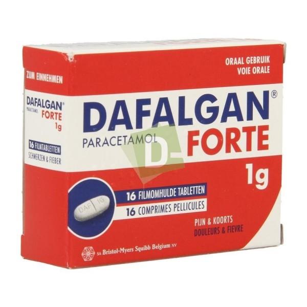 Dafalgan Forte 1000 mg x 16 scored tablets