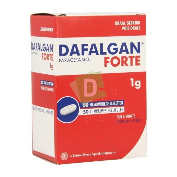 Dafalgan Forte 1000 mg x 50 Capsules