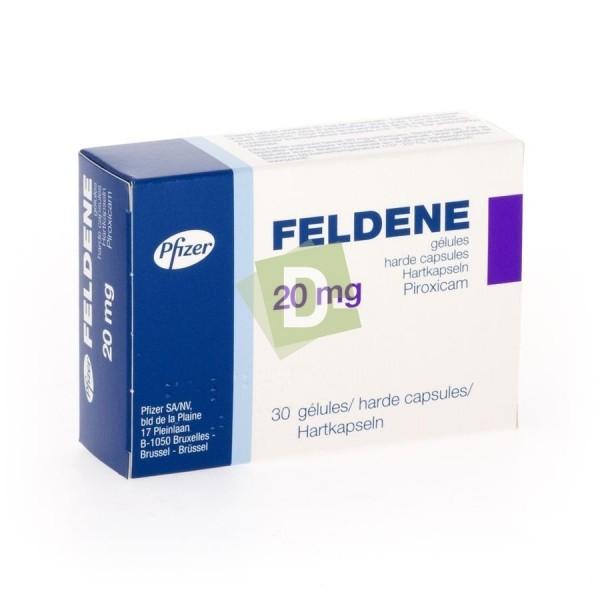 Feldene 20 mg x 30 Gélules