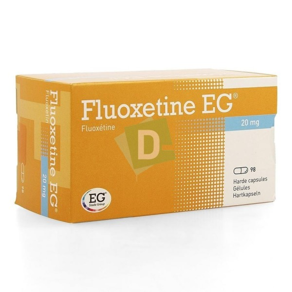 Fluoxetine 20 mg x 98 Film-Coated Tablets