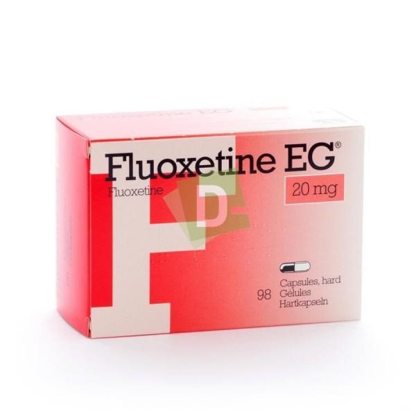 Fluoxétine 20 mg x 98 Gélules