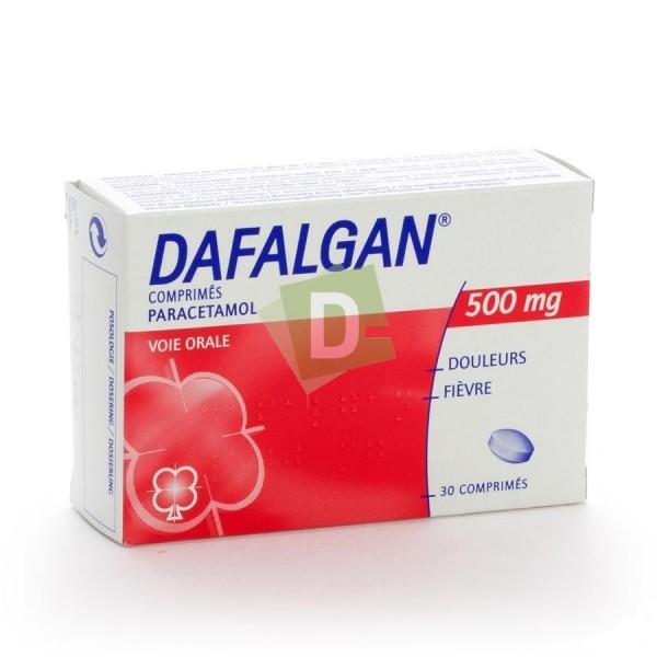 Dafalgan 500 mg x 30 Tablets