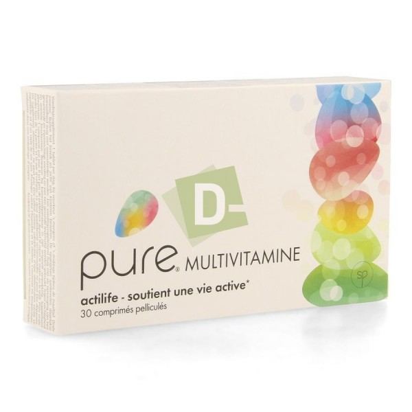 Pure Multivitamin 30 Tablets