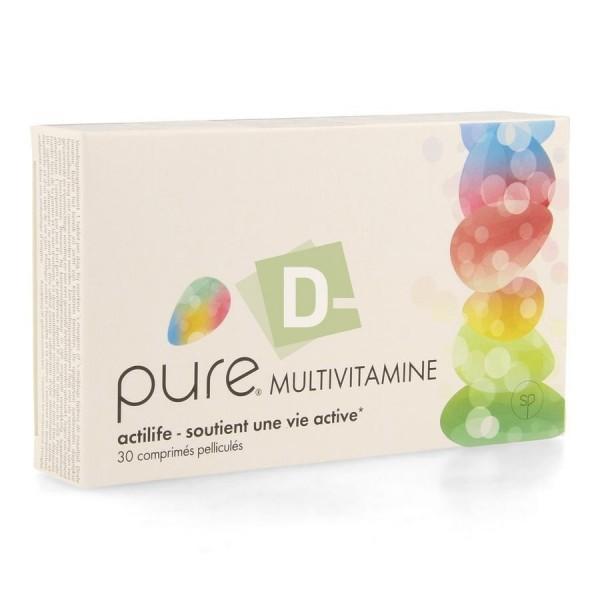 Pure Multivitamine 30 Comprimés pelliculés