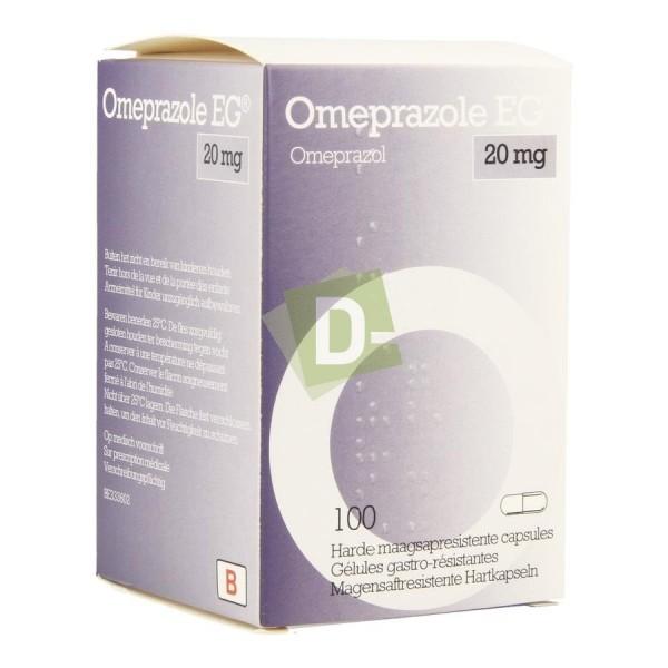 Oméprazole EG 20 mg x 100 Capsules
