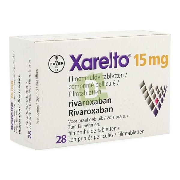 Xarelto 15 mg x 28 Comprimés pelliculés