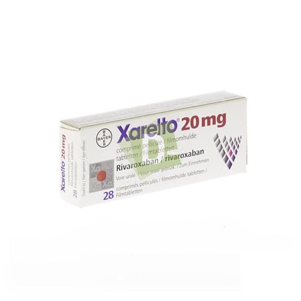 Xarelto 20 mg x 28 Comprimés pelliculés