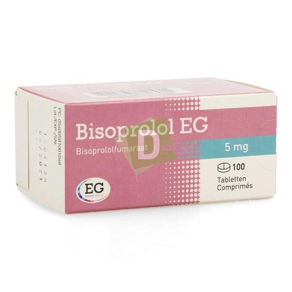 Bisoprolol EG 5 mg x 100 Comprimés