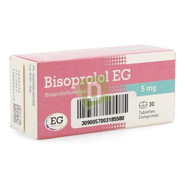 Bisoprolol EG 5 mg x 30 Tablets