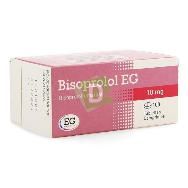 Bisoprolol EG 10 mg x 100 Comprimés