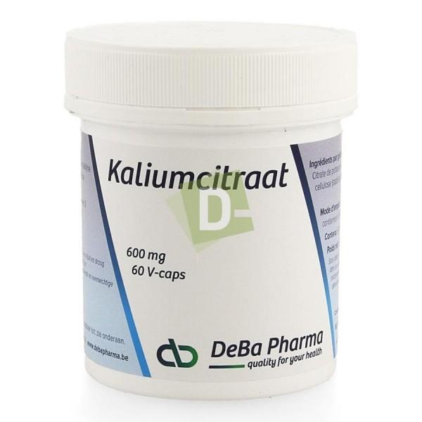 Citrate de Potassium 600 mg x 60 V-Caps