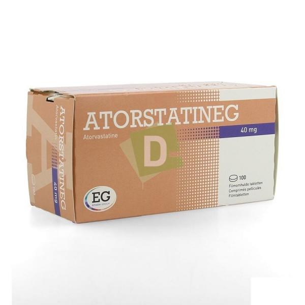 Atorvastatine EG 40 mg x 100 Comprimés pelliculés