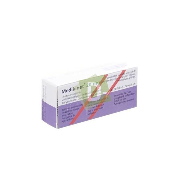 Medikinet 20 mg x 30 Comprimés