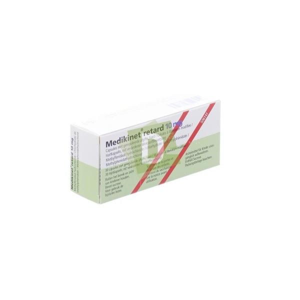 Medikinet Retard 10 mg x 30 Tablets