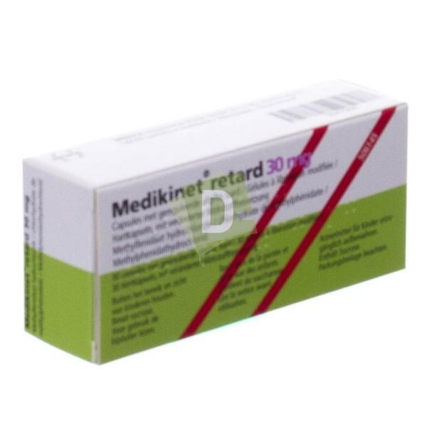 Medikinet Retard 30 mg x 30 Comprimés