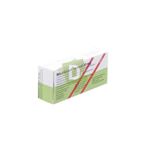 Medikinet Retard 20 mg x 30 Tablets