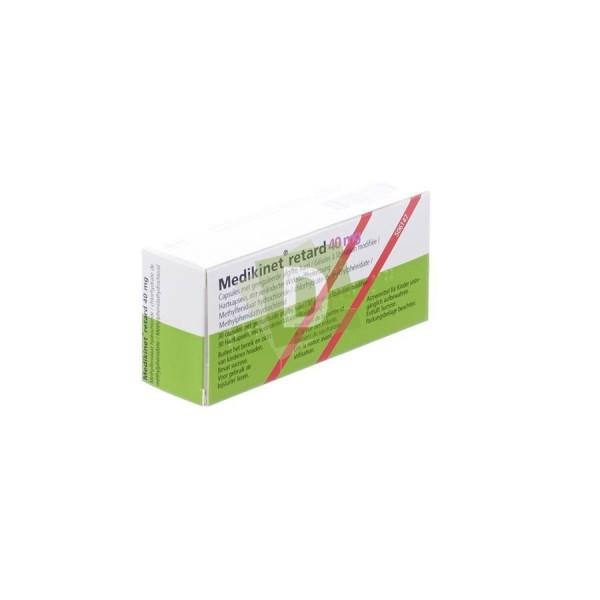 Medikinet Retard 40 mg x 30 Comprimés
