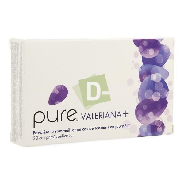 Pure Valeriana + x 20 Comprimés Enrobés