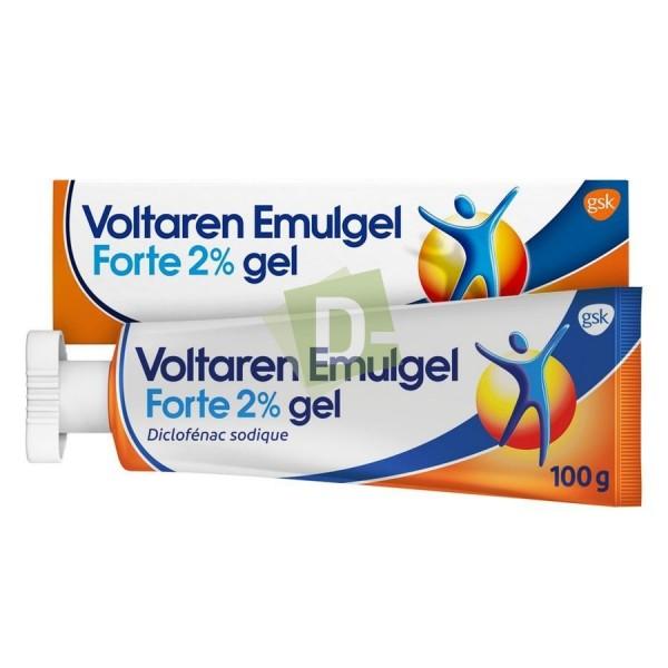 Voltaren Emulgel Forte 2% 100 g : Anti-inflammatoires et analgésiques