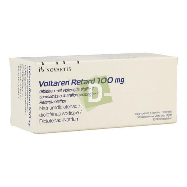Voltaren Retard 100 mg x 30 Comprimés : Anti-inflammatoires et analgésiques