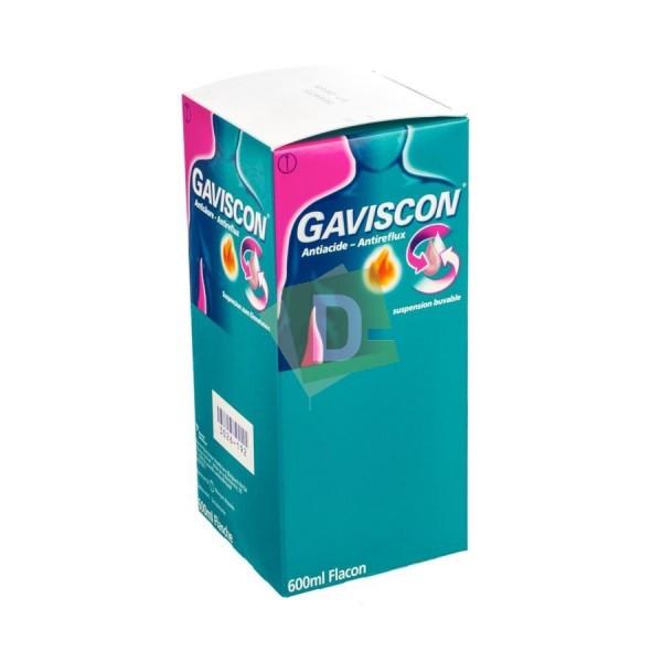 Gaviscon Antiacide - Antireflux Sirop 600 ml : Contre le reflux gastrique