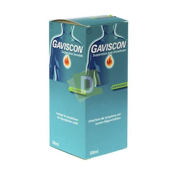 Gaviscon Menthe Sirop 300 ml : Contre le reflux gastrique